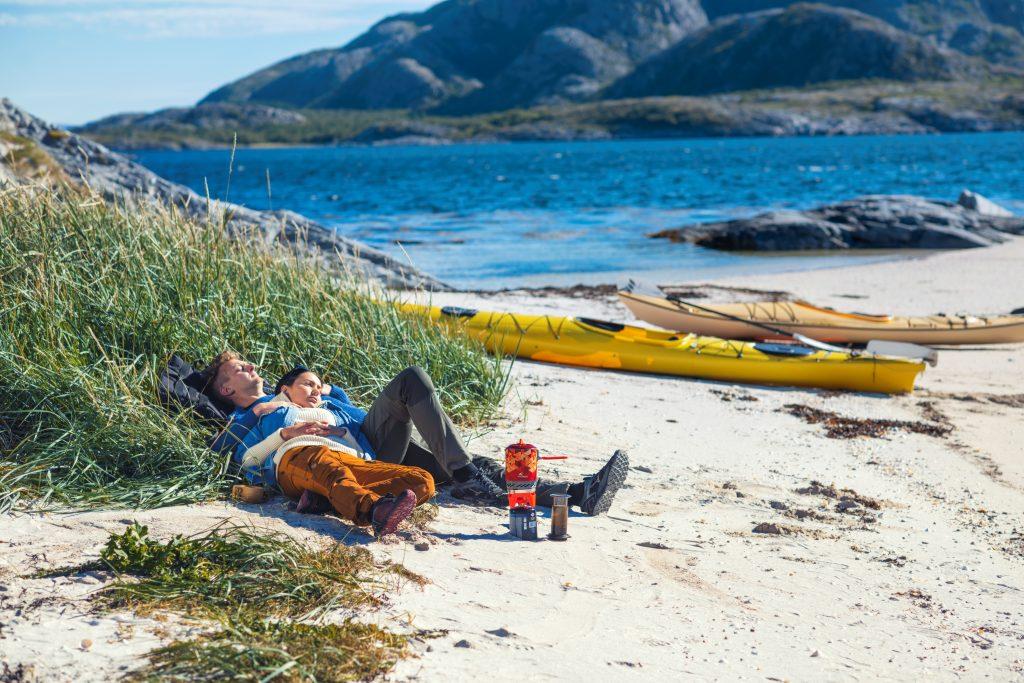 Kayaking in Namdalen